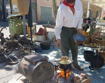 Cooking over fire - La Roque d'Anthéron