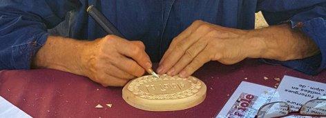Carvings demonstration La Roque d'Anthéron