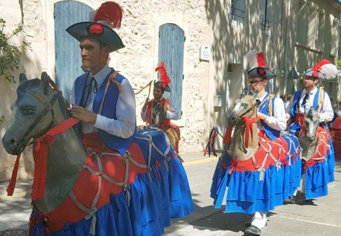 Horses dance - Provences Cherry Festival - La Roque d'Anthéron