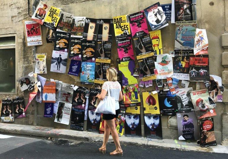 Silent Sunday... Festival d'Avignon