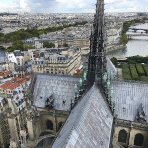Silent Sunday... Paris from above