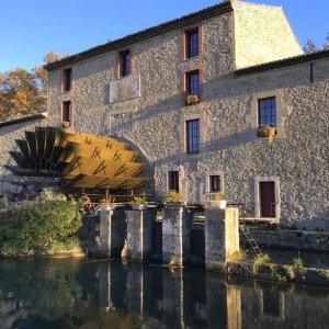 Silent Sunday - Moulin Saint Pierre - Taillades - Canal de Cabedan Neuf