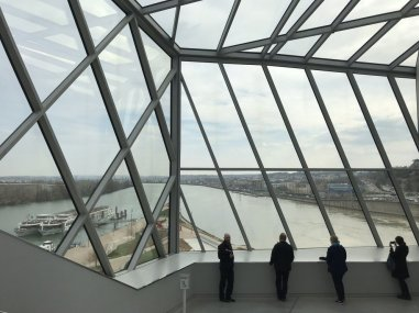 Modern design and great views at the Musée des Confluences in Lyon