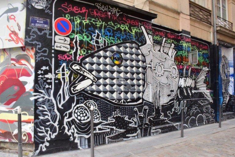 Parisian Street Art - Rue des Augustins