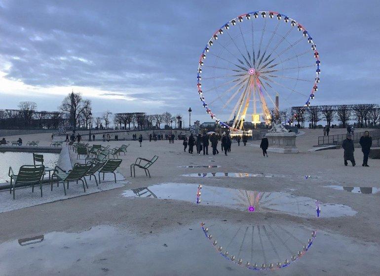 Silent Sunday - Paris - La Grande Roue - Jardin des Tuilleries