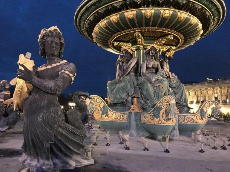 Parisian Holiday Season - Place de la Concorde