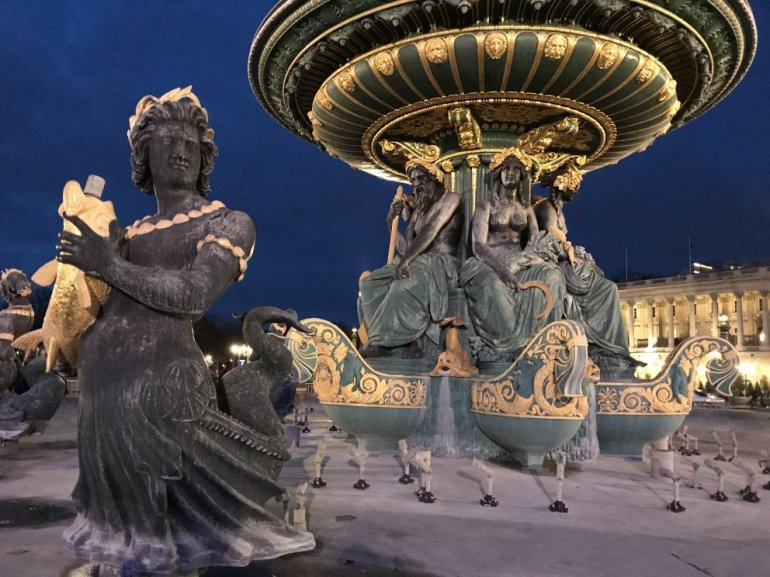 Parisian Holiday Season - Place de la Concorde