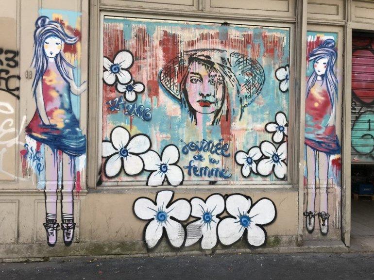 Parisian Street Art - Journée de la femme