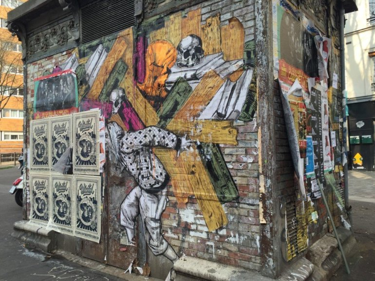 Parisian Street Art - Layers