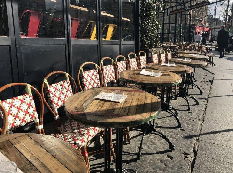 Silent Sunday - Paris - Café - lazy afternoon