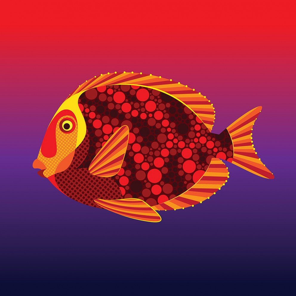April Fools Day - Tropical Fish - Matt W. Moore