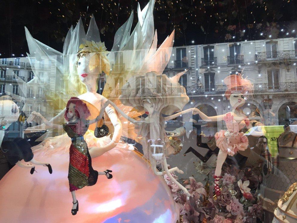 Silent Sunday - Galerie Lafayette - Paris - Décorations de Noël - Les Vitrines
