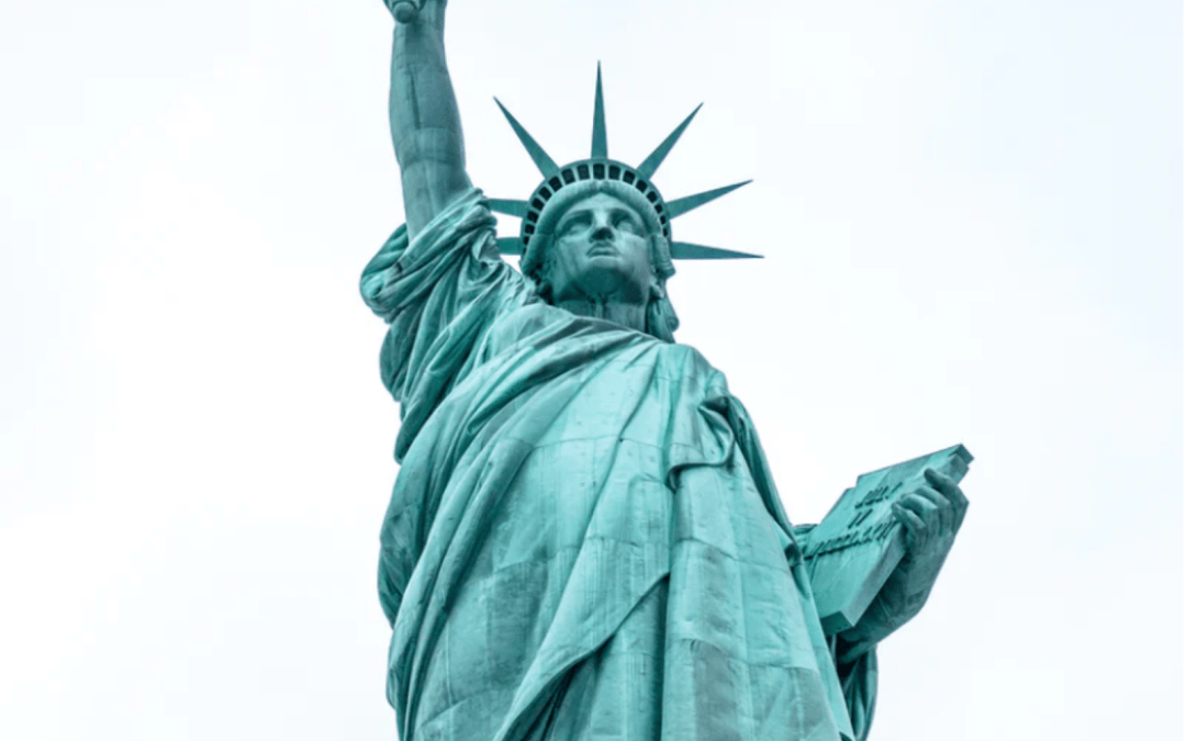 Statue of Liberty and how to vote from abroad