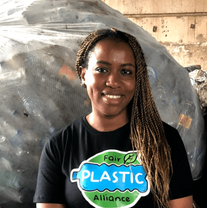 Bilikiss founder of Wecyclers