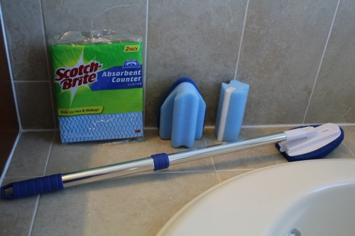 Reusable Bathroom Cleaning Tools From Scotchbrite, Review