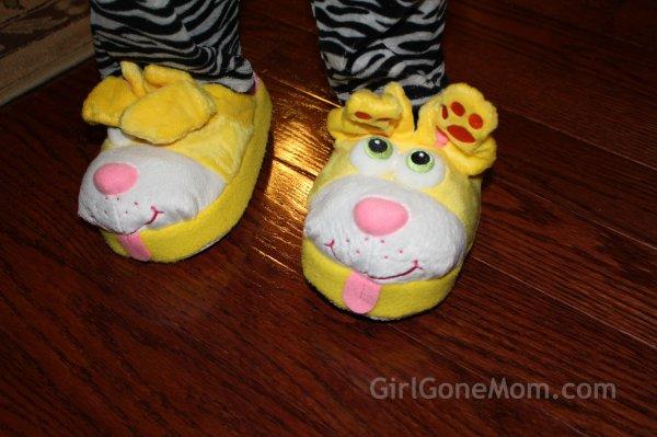 Stompeez Slippers Girl