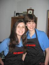 Saskatoon Rangers Jessica and Alexa