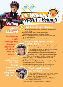 Safe Kids Canada: Got Wheels? Get a Helmet