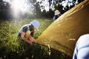 Girl Guides Camping