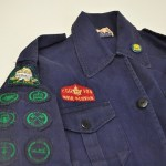 GGC Uniform with Embroidered War Service Badge. Photo: GGC Archives