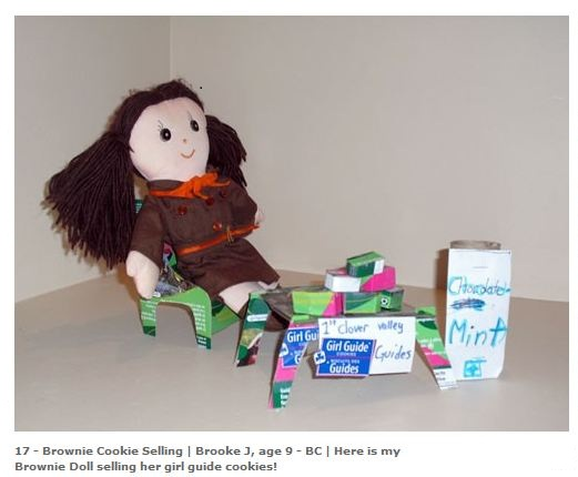 Brownie Selling Cookies by Brooke J