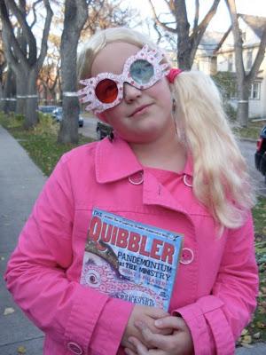 """""""Luna Lovegood"""", Halloween 2011"""