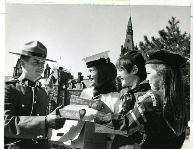 (c. 1978 from Girl Guides of Canada National Archives APH94)