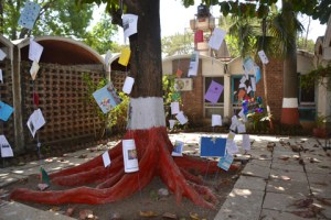 The Thinking Day Tree at the Sangam World Centre.