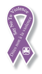 Say No to Violence Ribbon