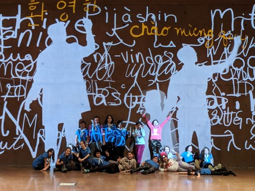 girl guides at museum of human rights