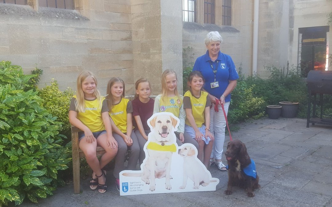 Bath Brownies Raise Funds for Guide Dogs