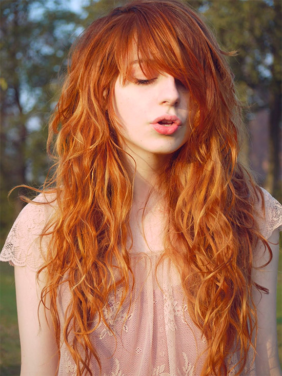 25 Amazing Hairstyles And Haircuts With Bangs For Naturally Curly