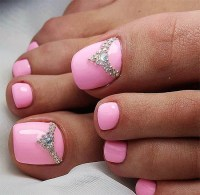 Top 10 Cute Pink Toe nail art designs and ideas - simply ...