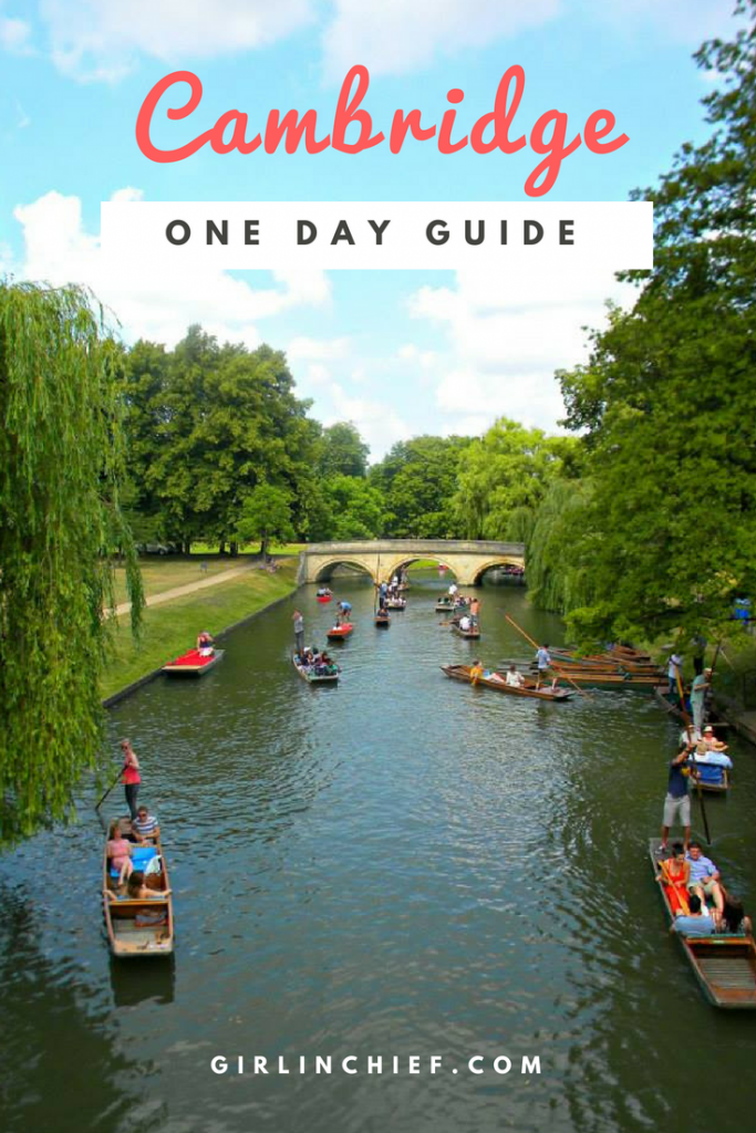 One Day Guide to Cambridge, UK #cambridge #punting #thingstodo #england #weekendgetaway #daytripfromlondon #visitengland