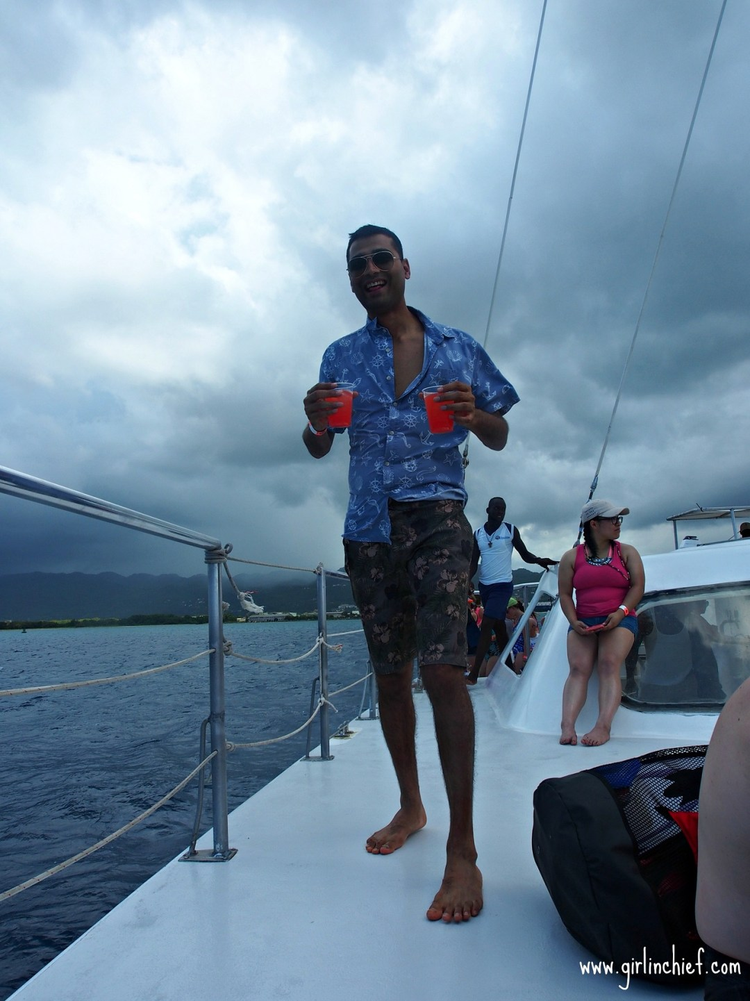 montego-bay-jamaica-catamaran-snorkel-rum-punch-carnival-freedom
