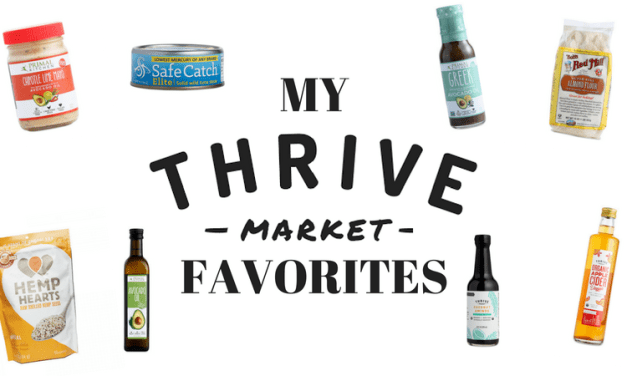 My Favorite Thrive Market Staples