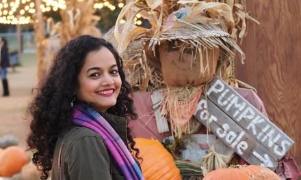 Halloween on the Farm | Visit to Hall's Pumpkin Farm