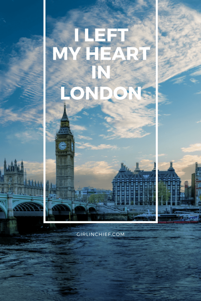 I Left My Heart In London - A Photo Essay