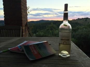 Wine at Preggio