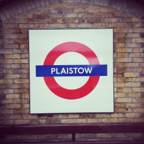 Plaistow tube sign