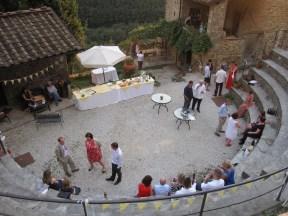 Pian di fiume amphitheatre wedding