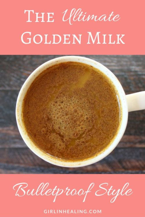 Cup of Dairy Free Bulletproof Golden Milk