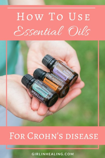 Essential Oils for Crohn's disease