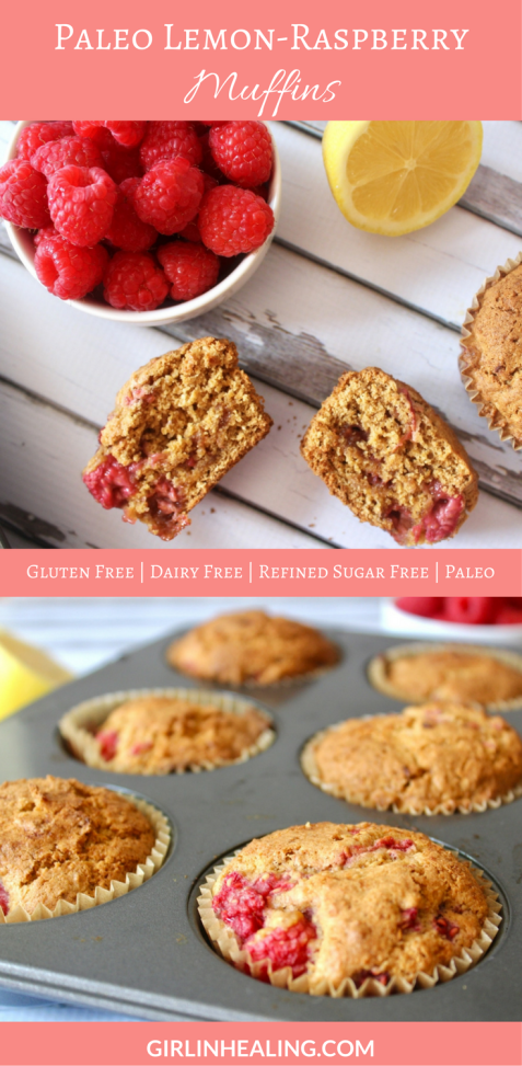 Lemon-Raspberry Muffins Pin