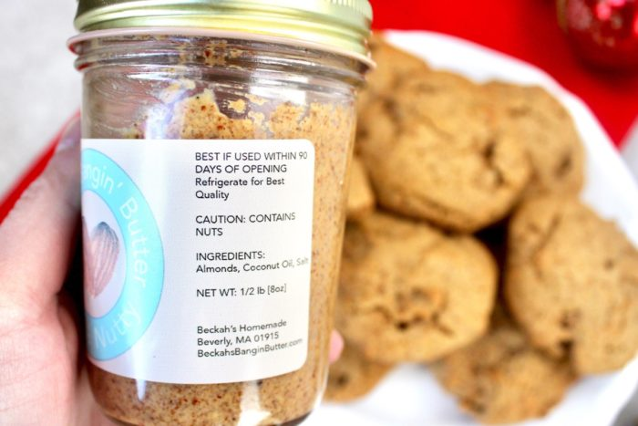 Grain Free Almond Butter Cookies (Dairy Free, Paleo)