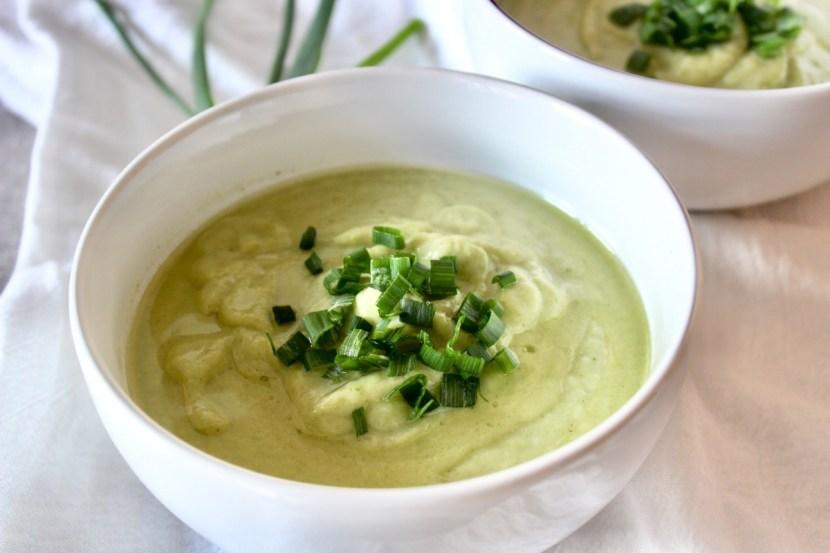 Broccoli Cauliflower Soup (AIP, Paleo, Whole30)