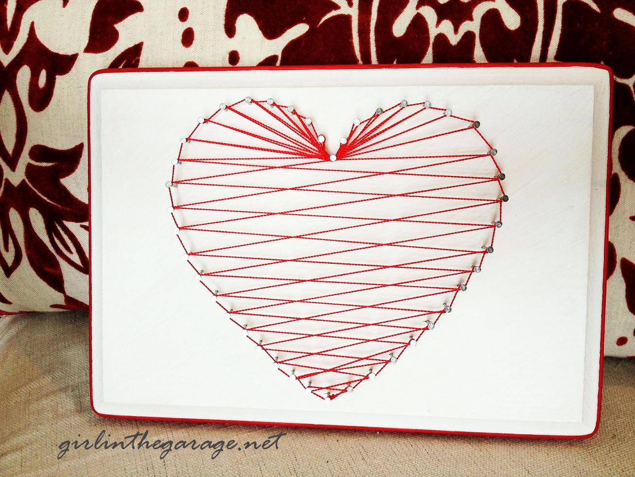 Free Printable String Art Patterns Heart