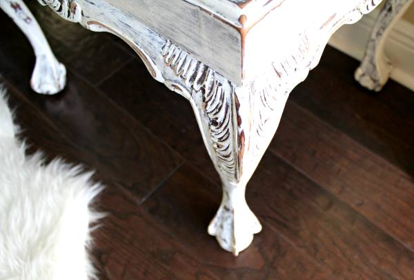 Pretty In Paisley Romance Themed Furniture Makeover