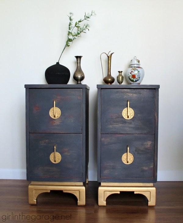 Chalk Paint Furniture Metallic