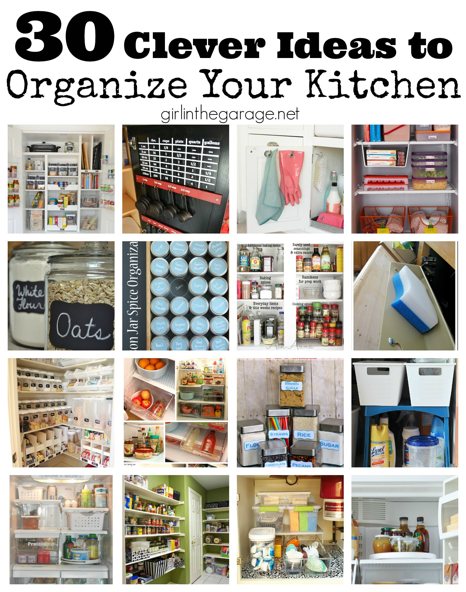 how to organize your kitchen cabinets and drawers stands 30 clever ideas
